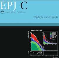 NEMO-3 makes the cover of EPJ C